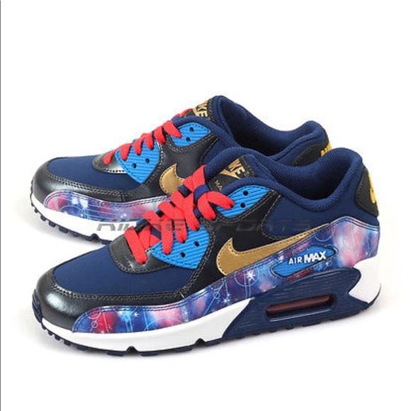 premium selection 8d481 d9da0 Nike Air Max 90 PREM LTR Galaxy Metallic Hematite.  M5a888822f9e501fcf72d2a90